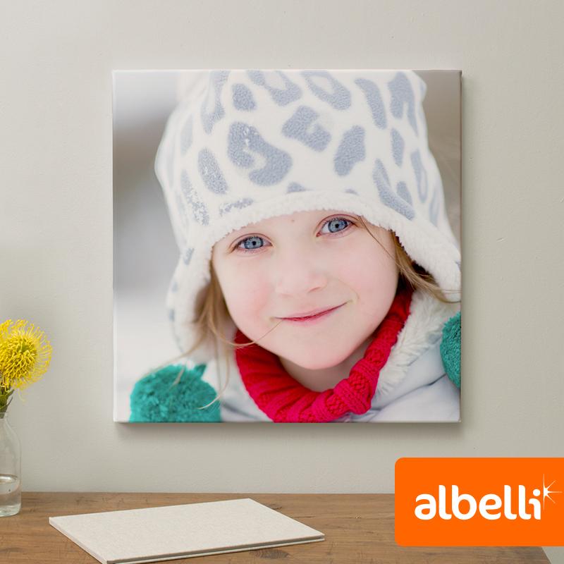 Jouw Foto op Canvas - Canvas Vierkant 50x50 cm.
